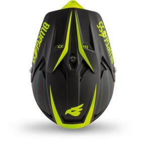 bluegrass Intox Helm black shaded/fluo yellow